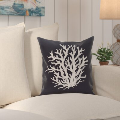 Fairhill Outdoor Throw Pillow Color: Bewitching, Size: 18 H x 18 W x 1 D
