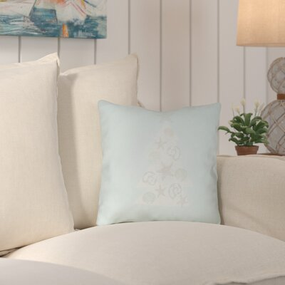 Claremont Indoor/Outdoor Throw Pillow Size: 16 H x 16 W x 4 D, Color: Blue