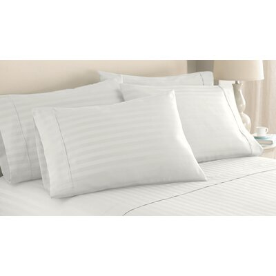 Kennebunkport 1000 Thread Count Sheet Set Size: King, Color: Ivory