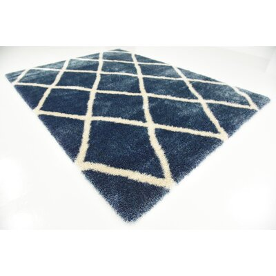 Southampton Navy Blue Area Rug Rug Size: Rectangle 8 x 112