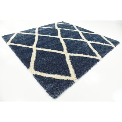 Southampton Navy Blue Area Rug Rug Size: Square 8