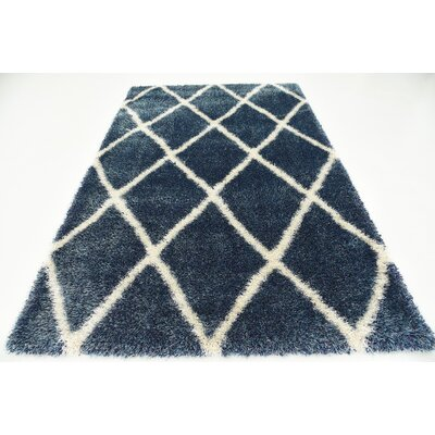 Southampton Navy Blue Area Rug Rug Size: Rectangle 5 x 8