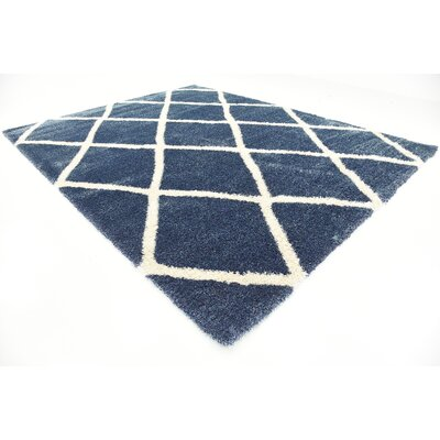 Southampton Navy Blue Area Rug Rug Size: Rectangle 10 x 13