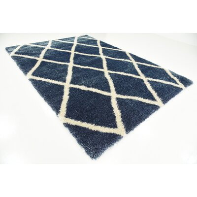 Southampton Navy Blue Area Rug Rug Size: Rectangle 7 x 10