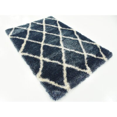 Southampton Navy Blue Area Rug Rug Size: Rectangle 4 x 6
