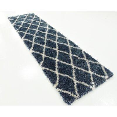 Southampton Navy Blue Area Rug Rug Size: Runner 27 x 10
