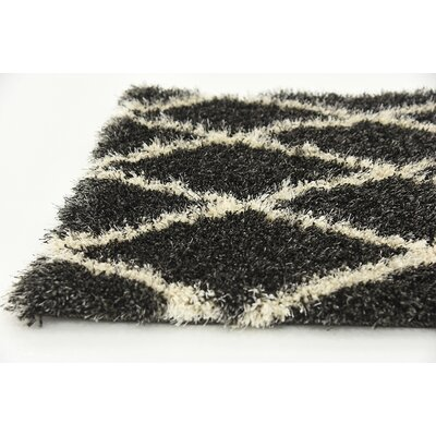 Southampton Black Area Rug Rug Size: Rectangle 5 x 8