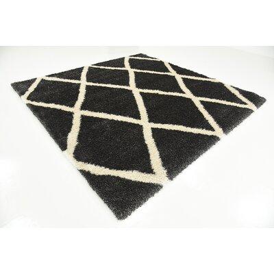 Westmont Black Area Rug Rug Size: Square 8