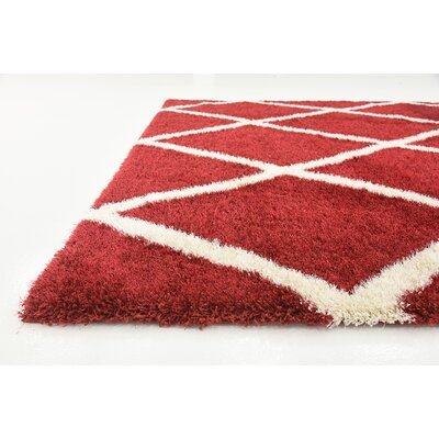 Southampton Burgundy Area Rug Rug Size: Rectangle 7 x 10
