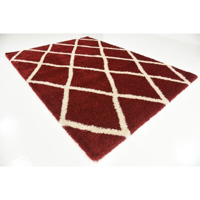 Southampton Burgundy Area Rug Rug Size: Rectangle 8 x 112