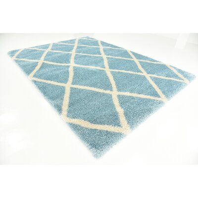 Southampton Light Blue Area Rug Rug Size: Runner 2 x 6
