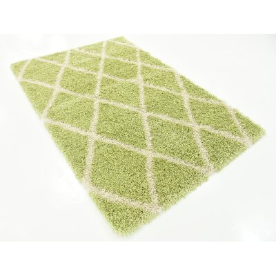 Southampton Light Green Area Rug Rug Size: 4 x 6