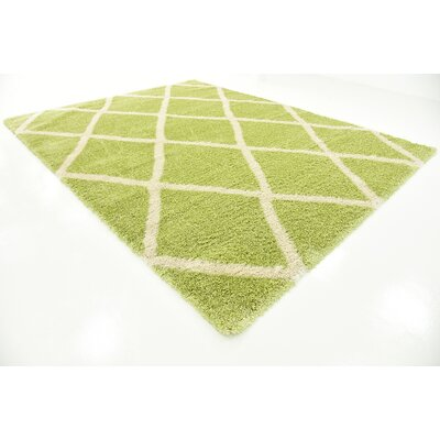 Southampton Light Green Area Rug Rug Size: Rectangle 10 x 13