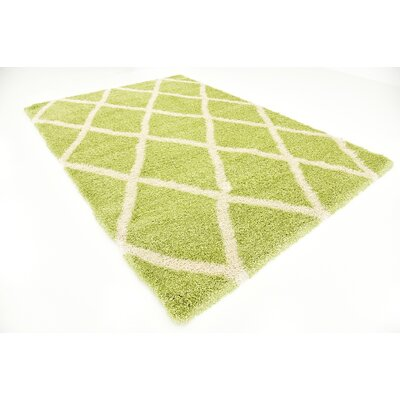Southampton Light Green Area Rug Rug Size: Rectangle 7' x 10'