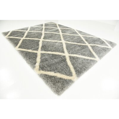 Southampton Gray Area Rug Rug Size: Rectangle 4 x 6