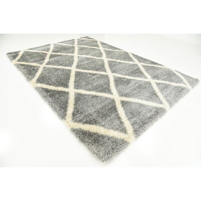 Westmont Gray Area Rug Rug Size: 7 x 10