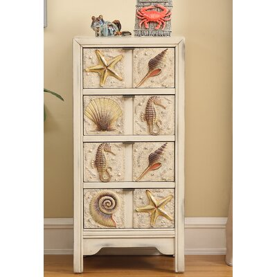 Fountainbleau 4 Drawer Lingerie Chest