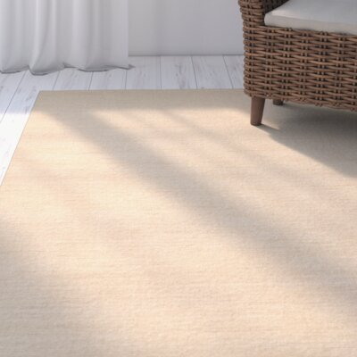 Abia Hand Woven Tan Area Rug Rug Size: Rectangle 6 x 9