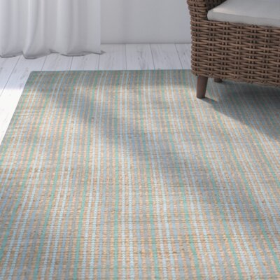 Abia Hand-Woven Green Area Rug Rug Size: Rectangle 2 x 3