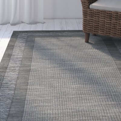 Crooked Lake Park Dark Gray Area Rug Rug Size: Runner 23 x 8