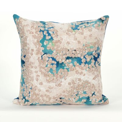 Coalton Indoor/Outdoor Throw Pillow Color: Blue