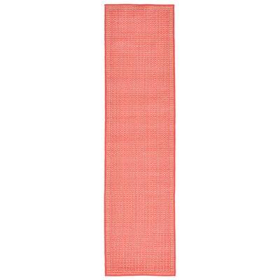Roselawn Orange Indoor/Outdoor Area Rug Rug Size: Runner 111 x 76