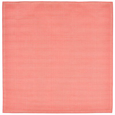 Roselawn Orange Indoor/Outdoor Area Rug Rug Size: Square 710