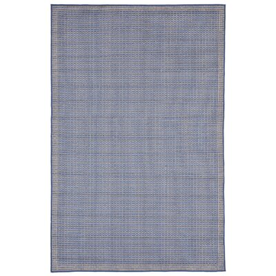 Clatterbuck Texture Blue Indoor/Outdoor Area Rug Rug Size: 111 x 211