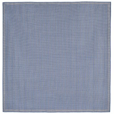 Roselawn Blue Indoor/Outdoor Area Rug Rug Size: Square 710