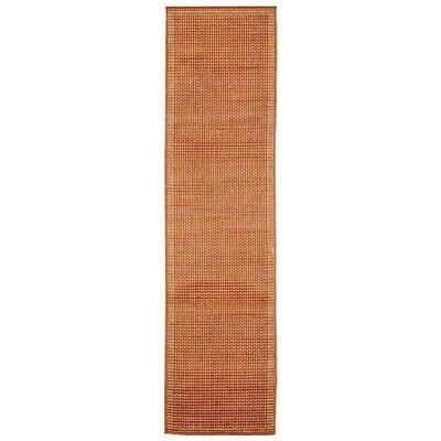 Clatterbuck Terra/Ivory Texture Indoor/Outdoor Area Rug Rug Size: Runner 111 x 76
