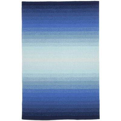 Northwood Ombre Blue Indoor/Outdoor Area Rug Rug Size: 36 x 56