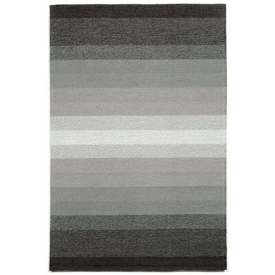 Northwood Ombre Grey Indoor/Outdoor Area Rug Rug Size: 83 x 116