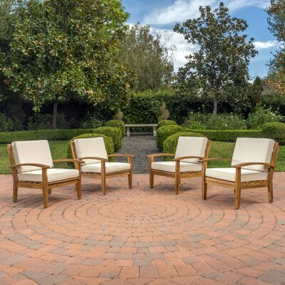 Rainier Armchair Upholstery: Beige