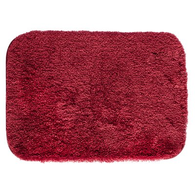 Ashmoore Bath Mat Size: 60 L x 24 W, Color: Wine