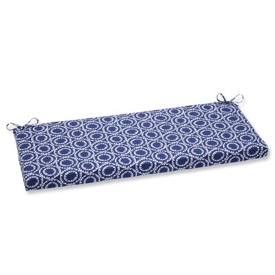 Averie Outdoor Bench Cushion Fabric: Navy