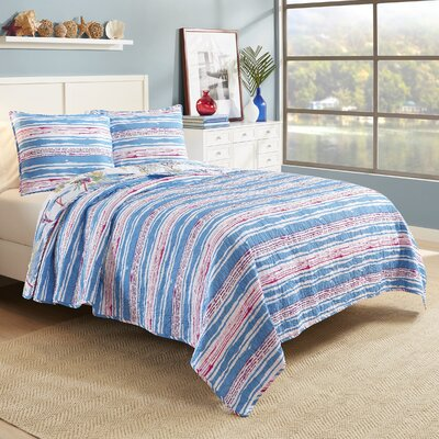 Shrewsbury Reversible Quilt Set Size: Full/Queen