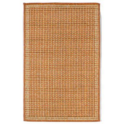 Roselawn Terra/Ivory Texture Indoor/Outdoor Area Rug
