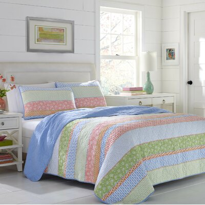 Catlin Reversible Quilt Set Size: Full/Queen