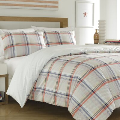 Jeremiah Reversible Duvet Set Size: Full/Queen