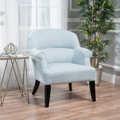 Rhodes Fabric Club Chair Color: Light Sky