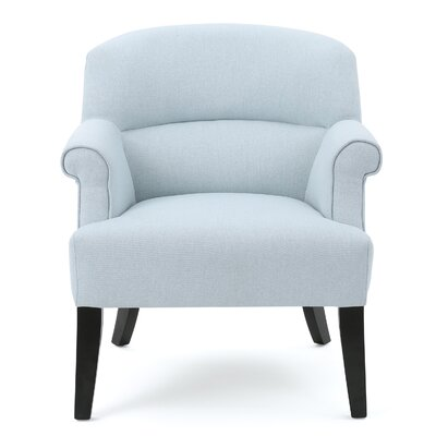 Rhodes Fabric Club Chair Color: Light Sky