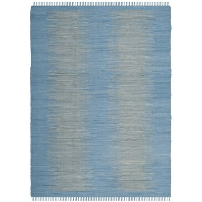 Cayman Hand-Woven Blue/Gray Area Rug Rug Size: Rectangle 8 x 10