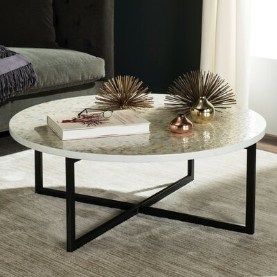 Hafner Coffee Table Finish: Cream