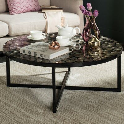 Eure Coffee Table Color: Gray