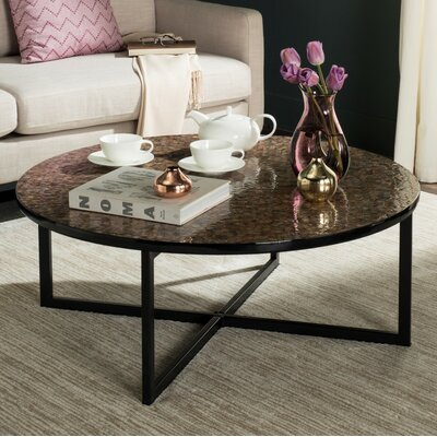 Hafner Coffee Table Finish: Brown