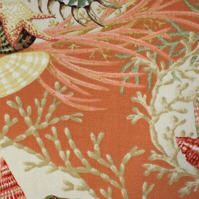 Edgerly 24 Swivel Bar Stool Upholstery: Seaworthy Coral Red
