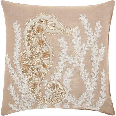 Dahlia Linen Throw Pillow