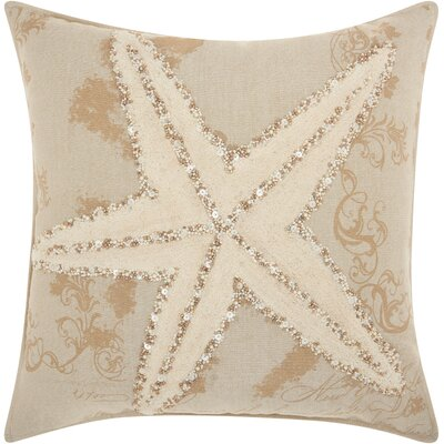 Ashland Starfish Linen Throw Pillow