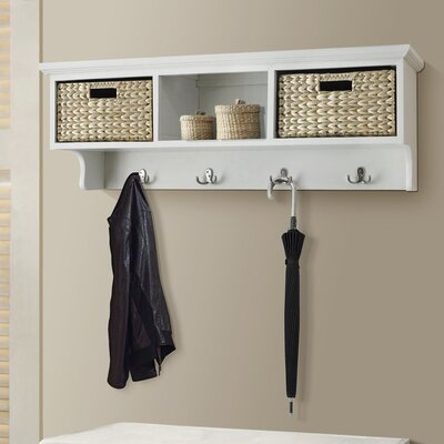Fleming 2 Basket Storage Shelf