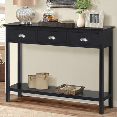 Fleming Console Table Finish: Espresso